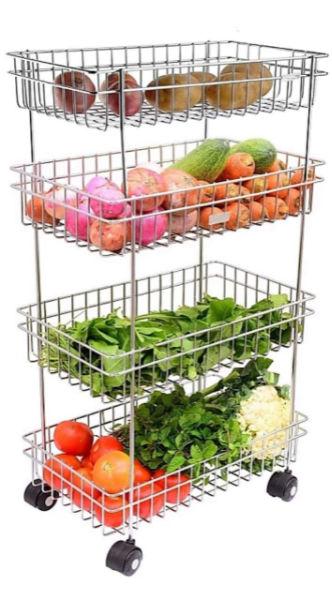 Kruvad Portable Kitchen Trolley