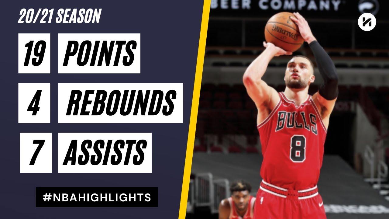 Zach LaVine 19pts 7ast vs PHI | March 11, 2021 | 2020-21 NBA Season