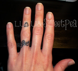 Lulu sweet pea diy gel nails at home i know we just did this step in the prep but i like to do it twice to ensure every bit of oil is off the nail plate solutioingenieria Image collections