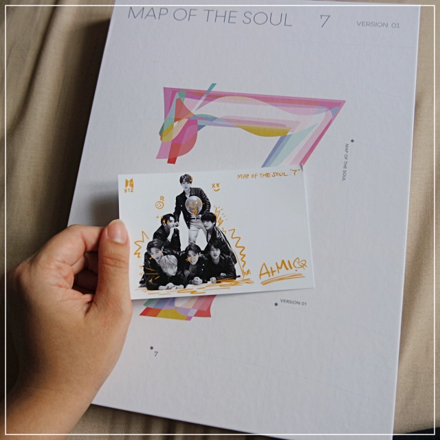 [FANGIRLING] My First BTS Album Map of The Soul: 7