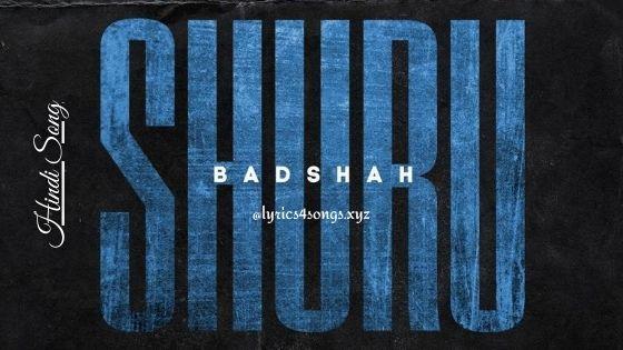 SHURU LYRICS - Badshah | The Power of Dreams of a Kid | Lyrics4songs.xyz