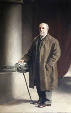 Sir John Heathcoat-Amory, MP for Tiverton 1868-1885
