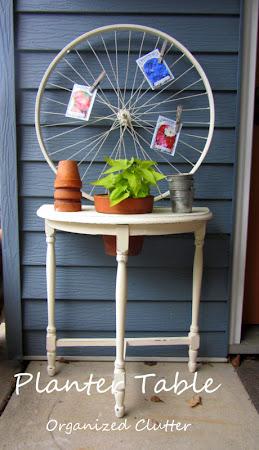 $2 Planter Table