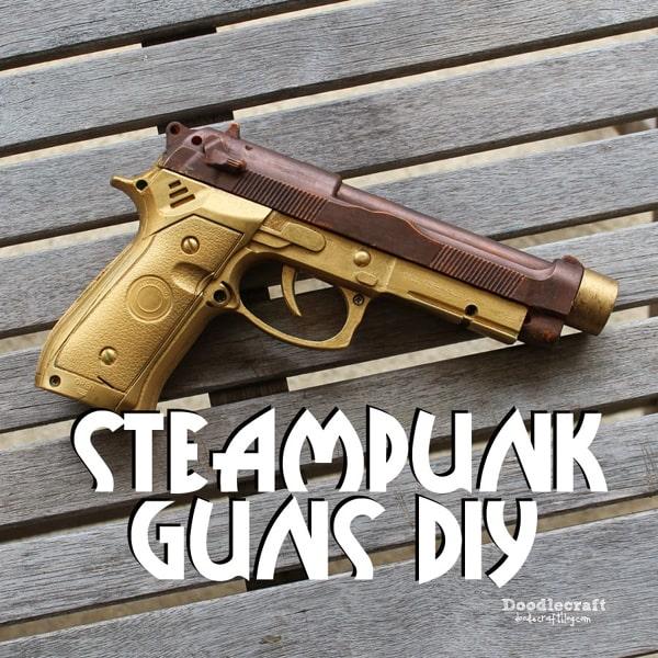 steampunk a toy gun