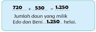 jumlah daun milik Edo dan Beni www.simplenews.me