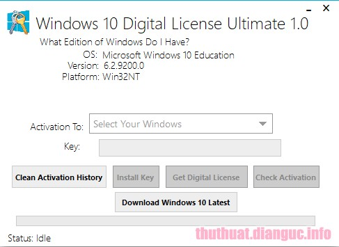 Download Windows 10 Digital License Ultimate 1.4 Full Crack