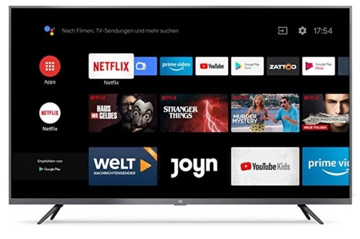 Smart TV يعمل بنظام الاندرويد