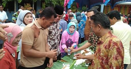 Hadiri Halal bi Halal Alumni SMPN 14 Padang, Wawako Ingatkan Pentingnya Raso jo Pareso