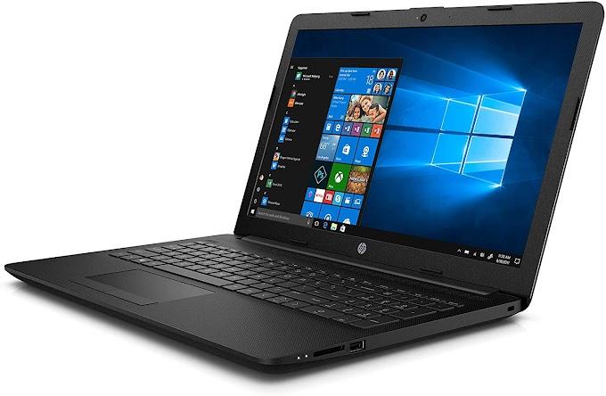 HP 15 da0389tu 15.6-inch Laptop (Pentium Gold 4417U/4GB/1TB HDD/Windows 10, Home/Integrated Graphics), Jet Black