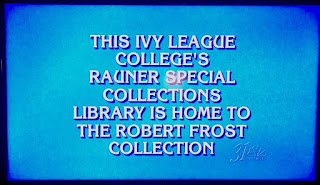 Screen shot of Jeopardy television show