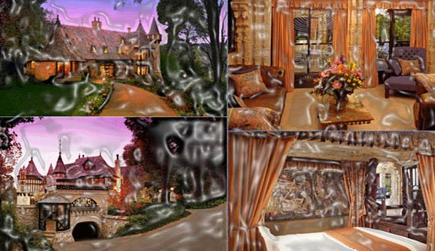 Thorngrove Manor is an attractive dream hotel, which will surely trigger your emotions. It appearance is similar to as a fairy castle and everything here is decorated with a romantic touch. The old furniture, small balconies and arches will take you back to the Romeo and Juliet era.