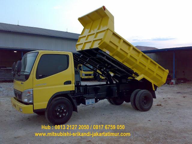 paket kredit dp ringan colt diesel dump truck 2019