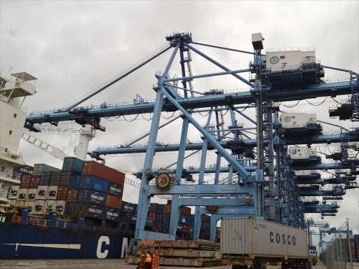 The port of Mombasa photo