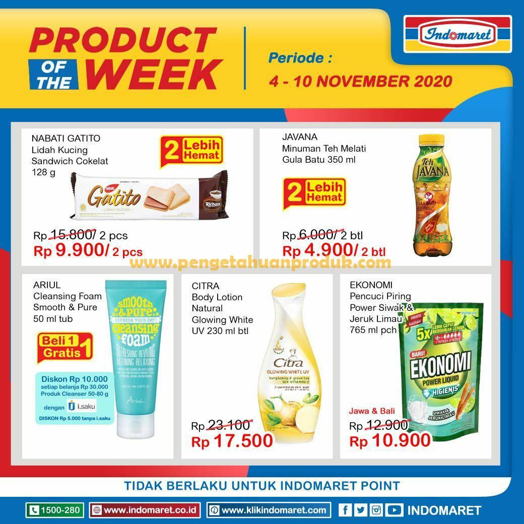 Promo Indomaret Heboh & Product Of The Week 4 - 10 November 2020