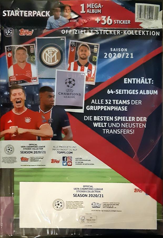 Topps match coronó 2020//2021 staterpack cuaderno edición limitada 20//21