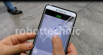 MiR mobil robot doğal navigasyon ile harita üzerinde çalışan otonom bir mobil robot