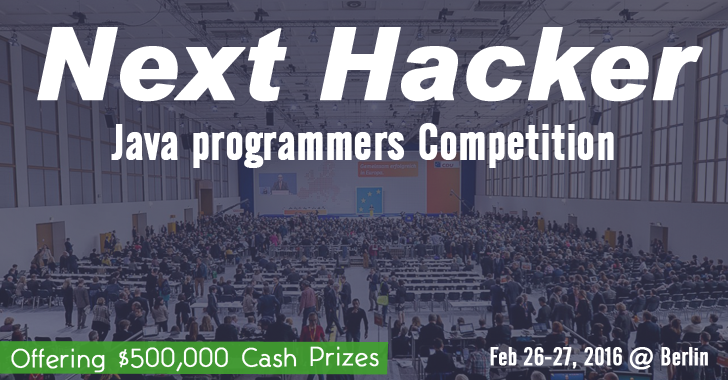 Next Hacker to Organize Biggest Java Programming Competition In Germany