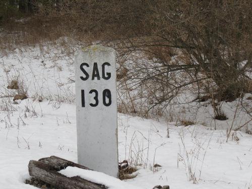 railroad mileage marker