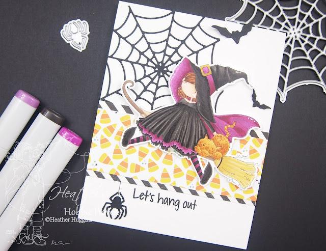 Heather's Hobbie Haven - Hattie Loves Halloween - Case This Sketch #338