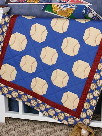 Play Ball Quilt Free Pattern