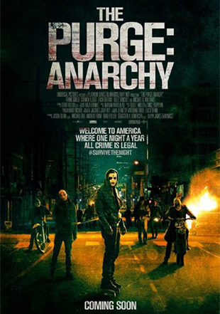 The Purge: Anarchy 2014 BRRip 1080p Dual Audio In Hindi English