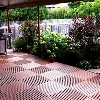 outdoor greatdeck pvc plastic tile patios Greatmats