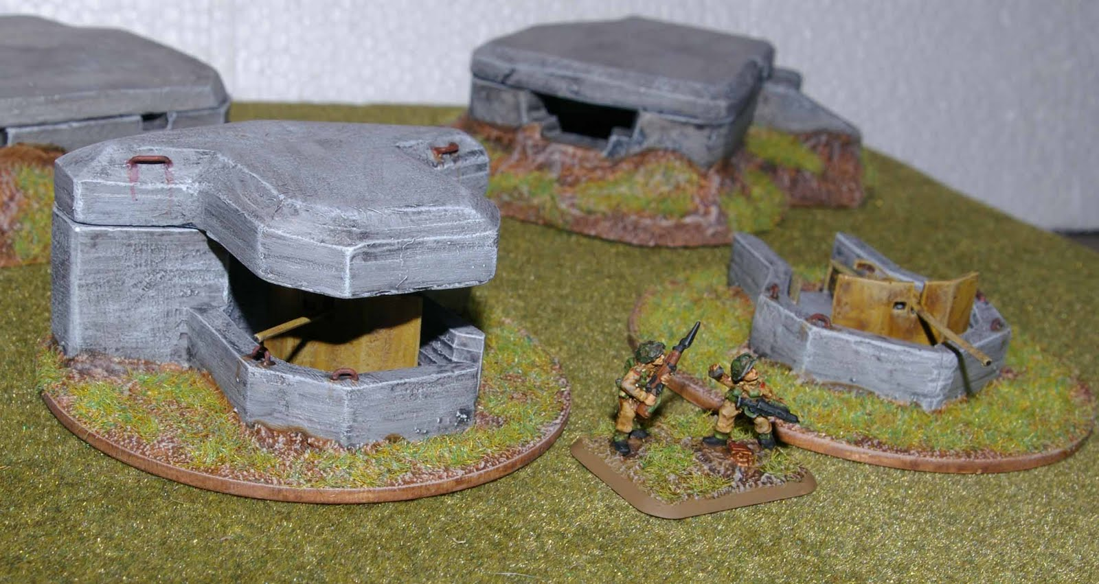 Tim S Tanks Antenocitis Workshop 15mm D Day Bunkers