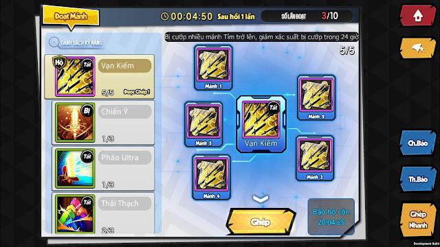Vũ Trụ Manga là tựa game có hoạt động nhiều, cày thả ga 11