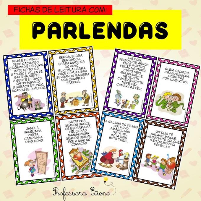 PARLENDAS - FICHAS DE LEITURA