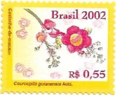 Selo flor da Castanha-de-macaco