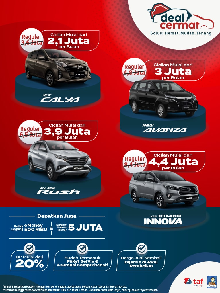 Promo Toyota Bali Akhir Tahun