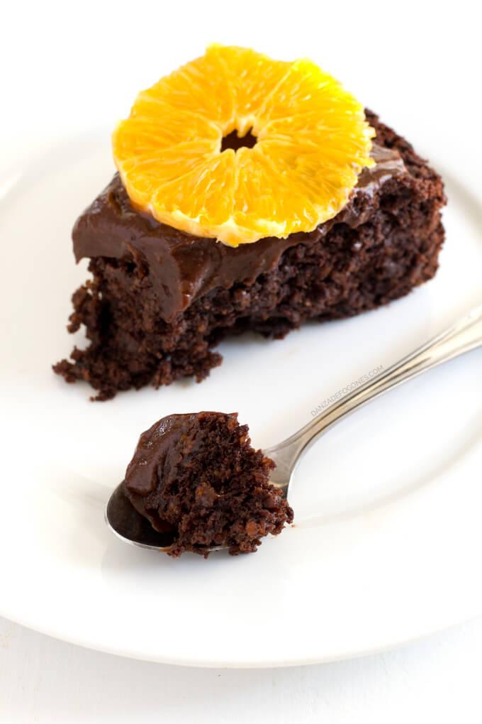 Vegan Chocolate and Orange Cake