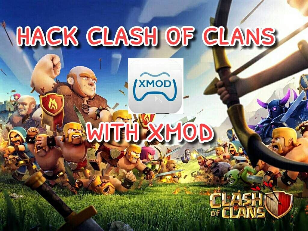 How To Hack Clash Of Clans With Xmodgames Tutorial