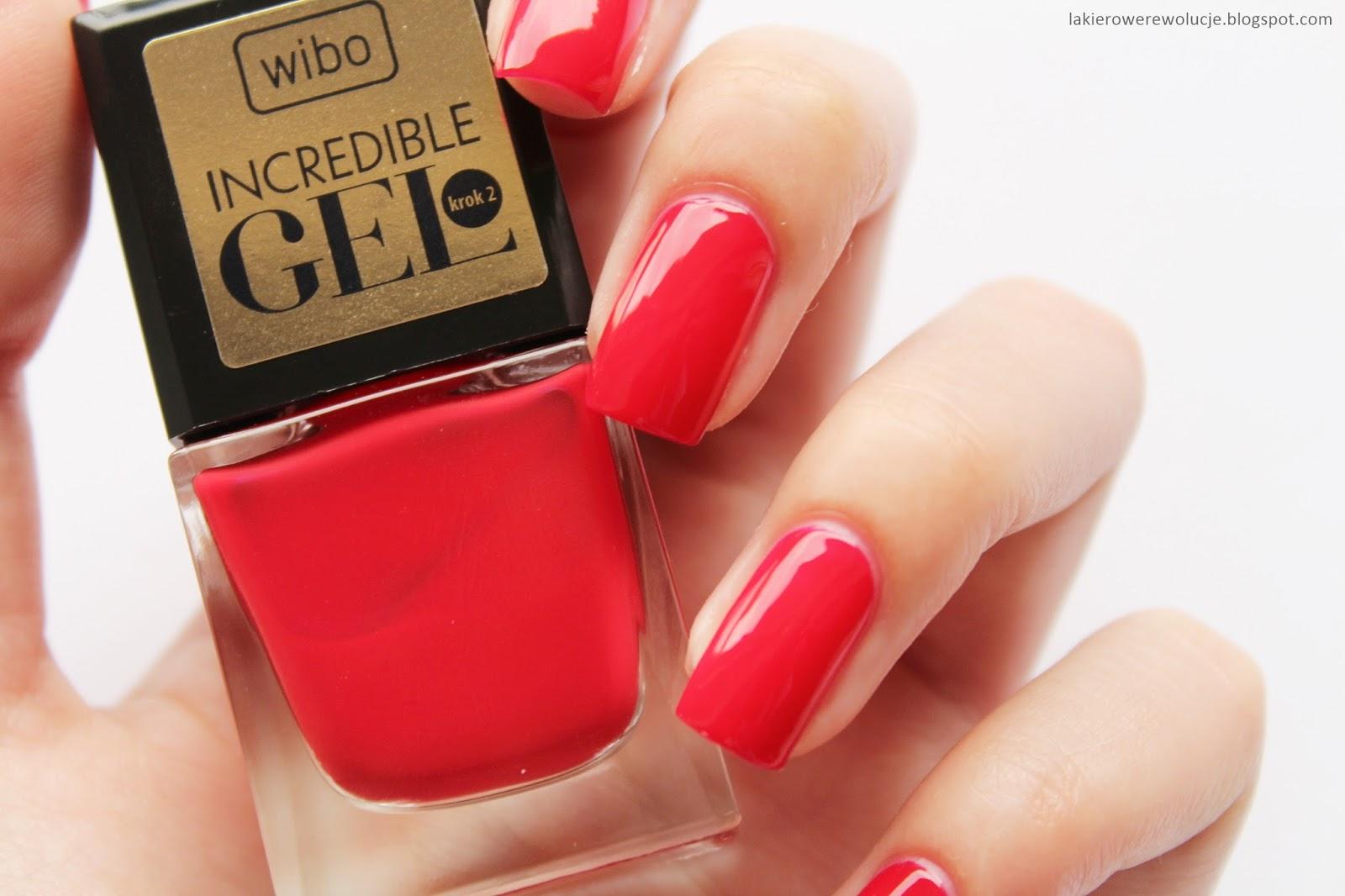 żelowy Manicure Bez Użycia Lampy Uv Wibo Incredible Gel
