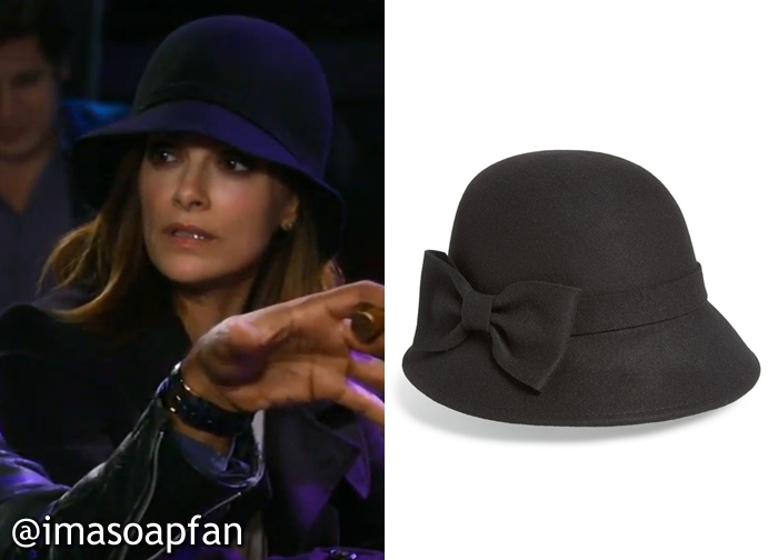 The best match I found is this felted wool downbrim hat by Kate Spade New  York 522c9f6601e3