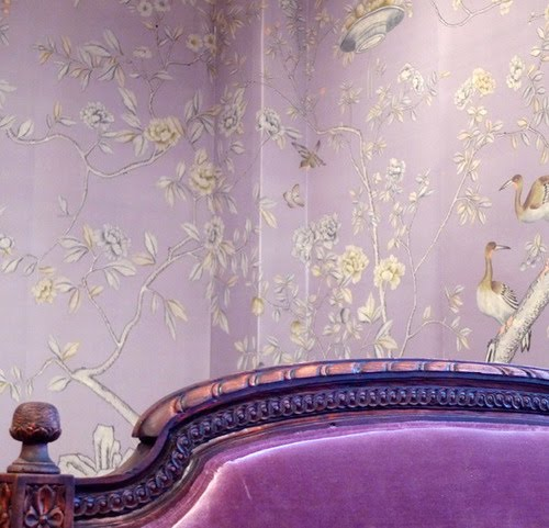 Chinoiserie Chic The Color Purple