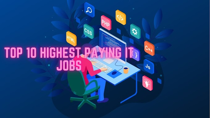 Top 10 highest paying IT Jobs in 2021| Best IT Jobs in 2021