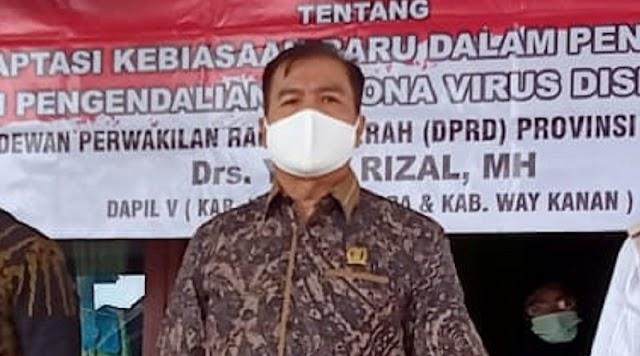 Anggota DPRD Lampung Yose Rizal Sosialisasi Perda AKB di Lampung Utara