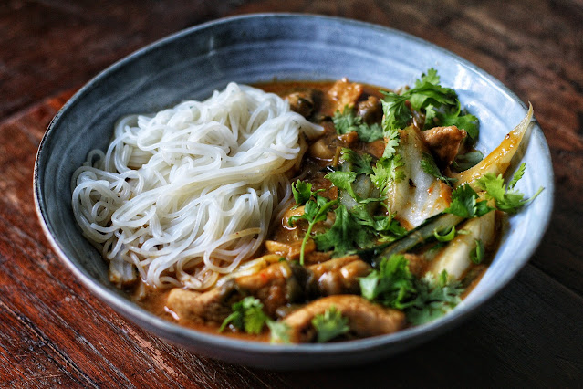 Thai Pork and Peanut Curry
