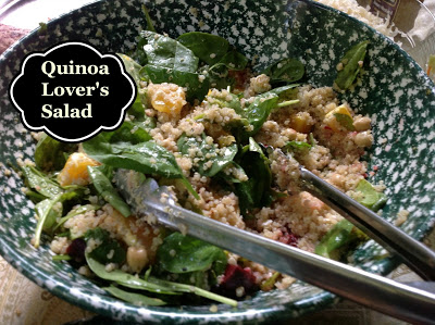 quinoa lover's salad