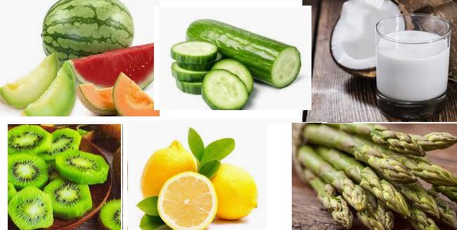 Sıcak Havada Serinleten Besinler