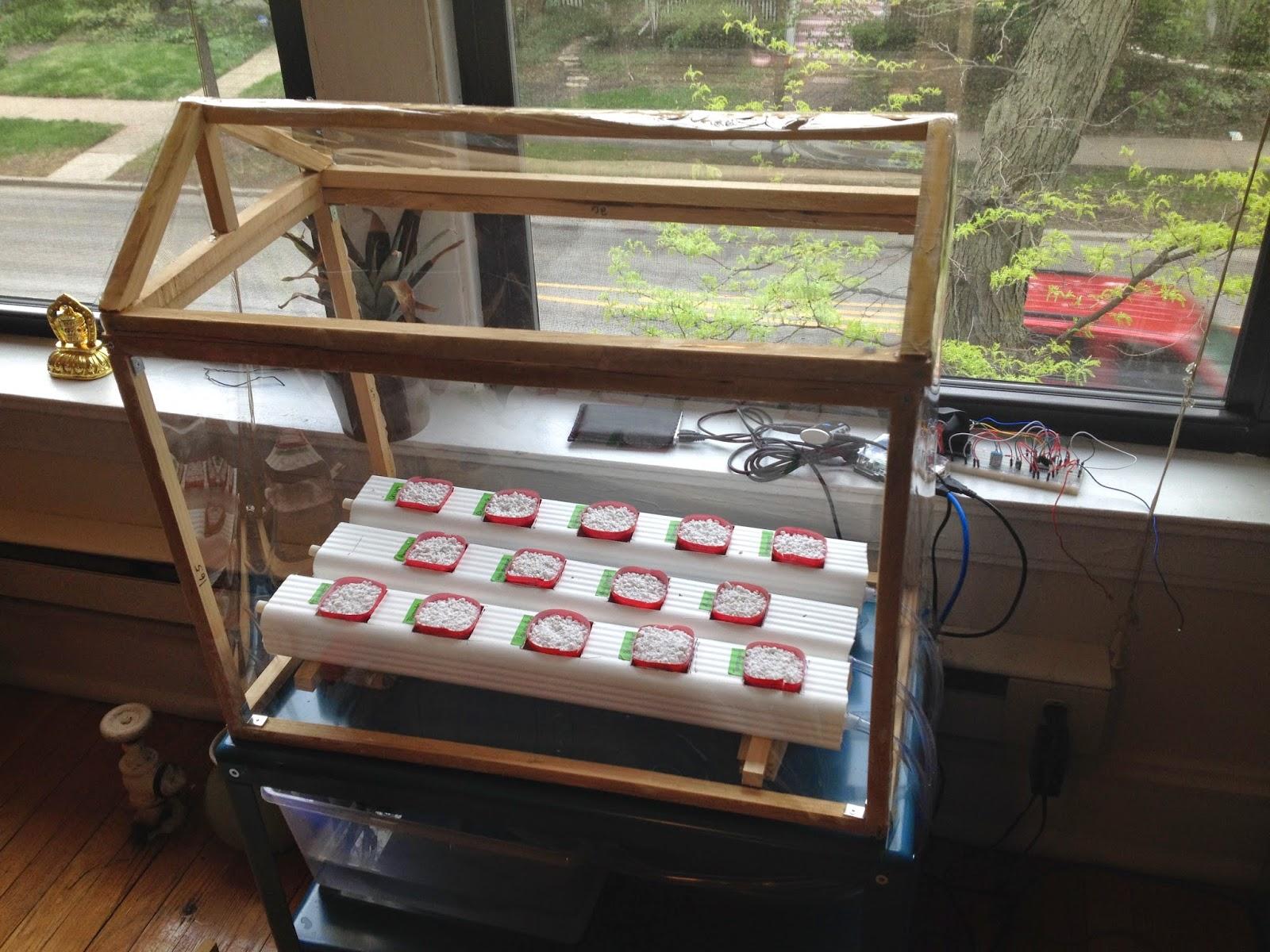 Raspberry Pi Powered Hydroponics