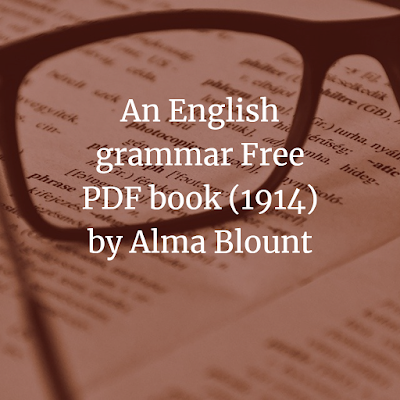 An English grammar Free PDF book