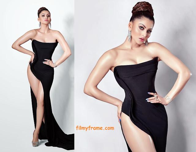 Urvashi Ratuela Hot Black Dress