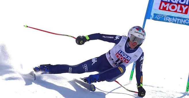 Sci, coppa del mondo di slalom gigante vince Marta Bassino
