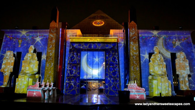 Ramadan Light and Sound Show 2 at Wafi