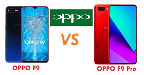 Oppo F9 dan Oppo F9 Pro