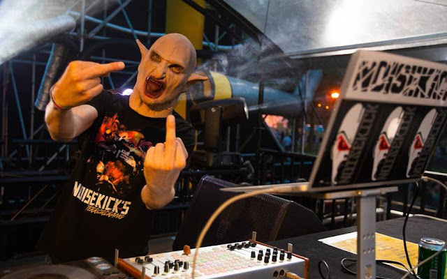 DJ Noisekick, the Face of Terror & Speedcore. #PMRC PunkMetalRap.com