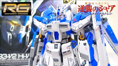 RG 1/144 Hi-ν Gundam Review Video