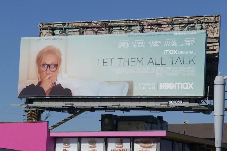 Let Them All Talk movie billboard